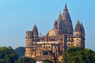 Chaturbhuj Temple at morning. Orchha.