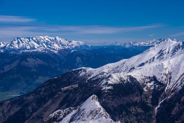 Alpenpanorama Hohe Tauern in Österreich