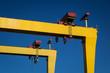 Leinwandbild Motiv Belfast Cranes