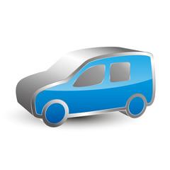Vehicle 3D icon