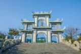 Gate at Linh Ung Pagoda in Da Nang, Vietnam - 80546227