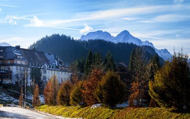 Spätherbst unter der Alpspitze