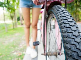 bicycle Wheel detail