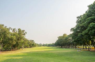 Vachirabenjatas Park (Rot Fai Park) in Thailand