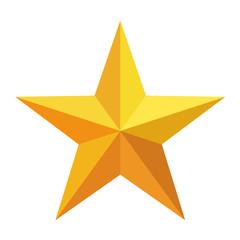 Icono estrella dorada