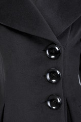 Detail of suit button