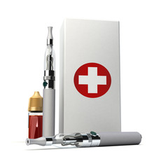 Medicinal e-cigarette