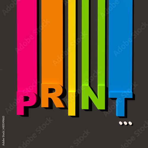 Color print - 80549663