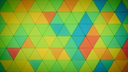 Triangle Polygon Loop 10 Tropical