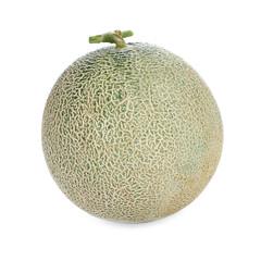 Melon fresh fruit isolated on a white background