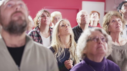 Informal contemporary church group