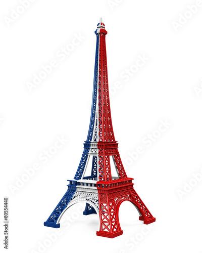 Eiffel Tower Isolated © nerthuz