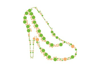 Ornament of High Heel Shoes