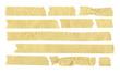 Leinwanddruck Bild - Torn Masking Tape