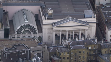 Aerial over Bank of England