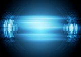 Fototapety Abstract blue hi-tech background
