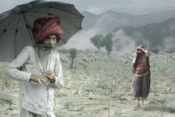 Indian Rural People