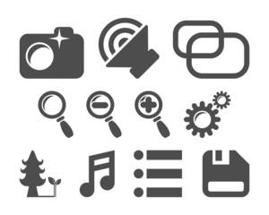 App Buttons Set
