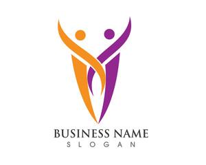 V logo comunity
