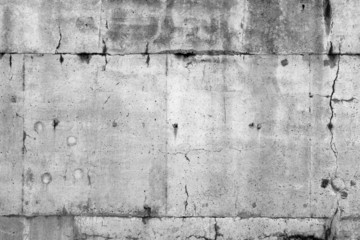 Grey cracked wall