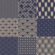 seamless japanese mesh pattern
