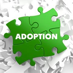 Adoption on Green Puzzle.