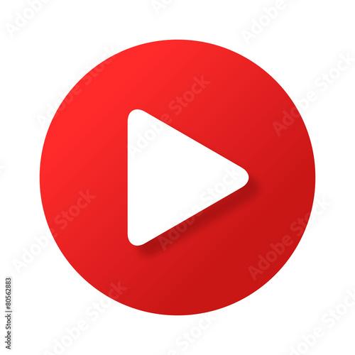 Przycisk Odtwórz wideo