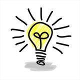 incident - thought idea lightbulb Einfall Gedanke Idee Glühbirne