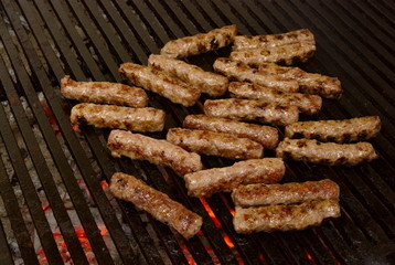 Cevapcici - Tasty Meat Roasted On A Grill