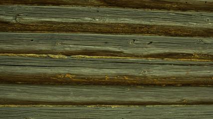 старинная деревянная стена