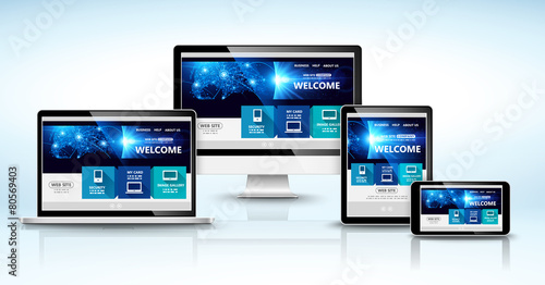 Web design concept. Vector - 80569403