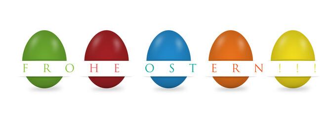 Ostereier Hintergrund, Frohe Ostern