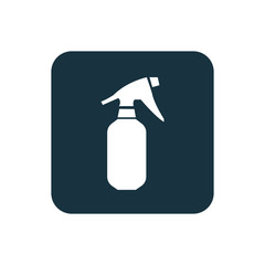 sprayer icon Rounded squares button