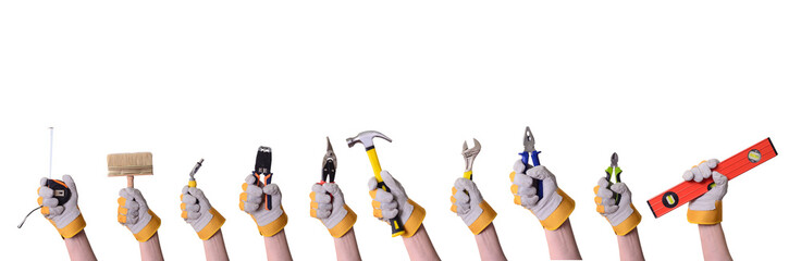 Tools in hand