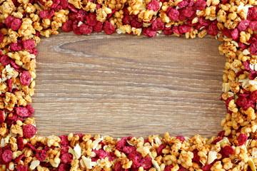 Cornice di cereali croccanti