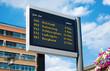 ÖPNV Digitale Echtzeitanzeige Dynamische Fahrgastinformation - 80578634