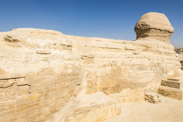 The Great Sphinx of Giza, Cairo (Egypt)