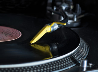der Schallplattenspieler