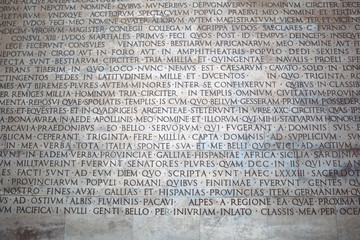 Ancient Latin Inscriptions in Rome