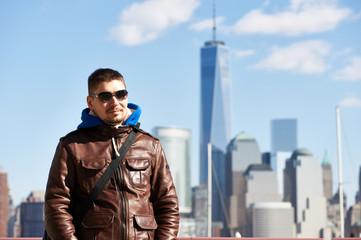 Man in New York City