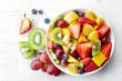 Leinwanddruck Bild - Fresh fruit salad