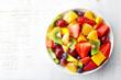 Fresh fruit salad - 80584881