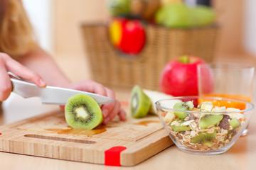 preparing food