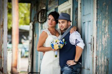 wedding, hat, style, old