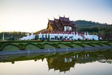 Ho kham luang, Royal Park Rajapruek, Chiangmai, Thailand