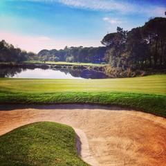 Golfplatz Aussicht