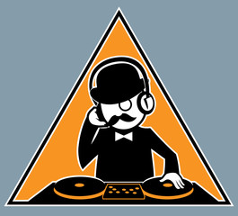 Hipster DJ