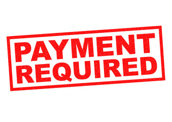 PAYMENT REQUIRED