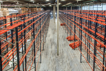 warehouse shelving high
