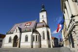 St. Marks' church in Zagreb, Croatia